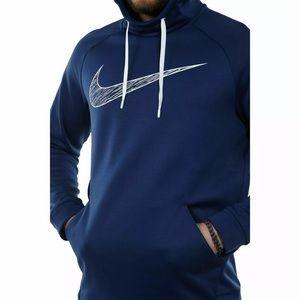Nike Therma Dri-Fit Men's Medium Graphic Hoodie
